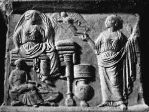 Luigi Bernabò Brea, I rilievi tarantini in pietra tenera - parte I