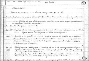 Schede dei Manoscritti Lanciani, a cura di M.P. MUZZIOLI, P. PELLEGRINO, parte 2