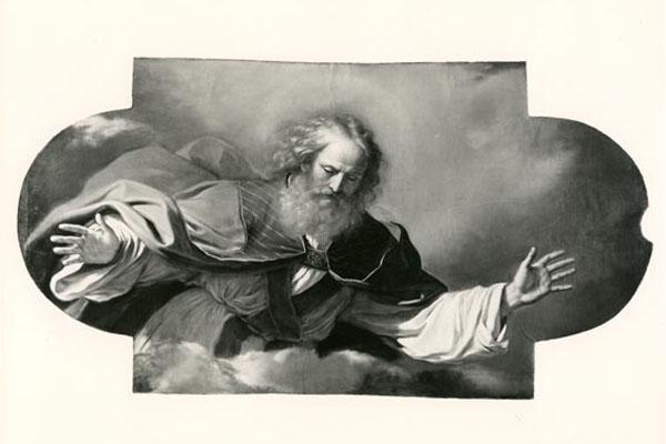 IST-CENTO-83077-Chiesa-del-SS-Rosario-Gurcino-Il-padre-Eterno-Fot-A-Villani-e-Figli-Bologna