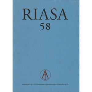 09 - RIASA - Rivista dell'Istituto Nazionale d'Archeologia e Storia dell'Arte